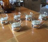 Omas Teegläser aus den 50er Jahren - fast Antik - Bremen