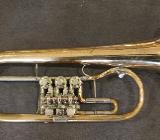 Gebr. Alexander Mainz Goldmessing Konzert - Flügelhorn inkl. Koffer