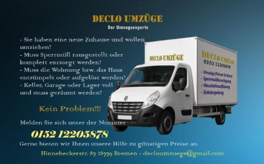 Umzu und Transport zu günstigen Preise - Bremen