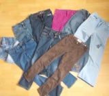 9 Teiliges Hosen Paket für Mädchen in 146 - Edewecht