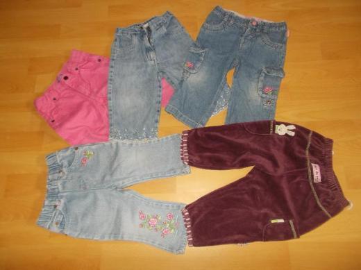 22 Teiliges Bekleidungs Paket für Mädchen in 74 - Edewecht
