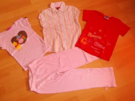 4 Teiliges Sommer Bekleidungs Paket für Mädchen in 110 Neu ! - Edewecht