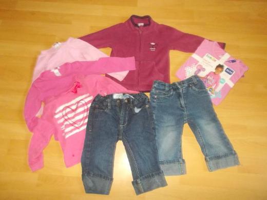 8 Teiliges Bekleidungs Paket für Mädchen in 86 / 92 - Edewecht