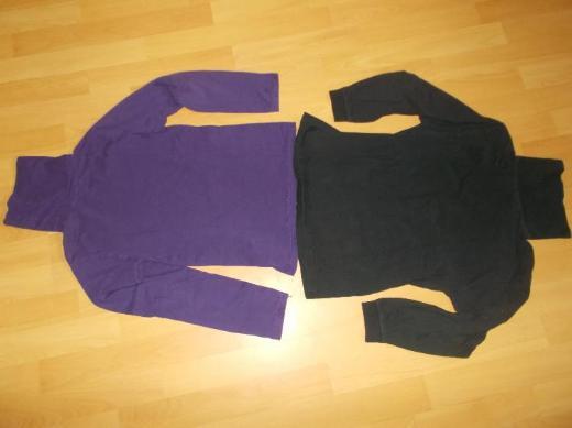 6 Teiliges Rollkragen Shirts Paket für Mädchen in 140 - Edewecht
