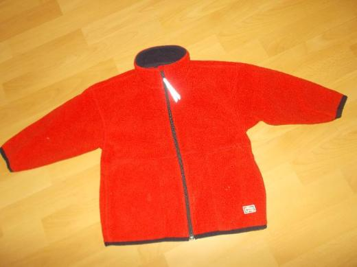 2 rote Fleecejacken für Mädchen in 92 / 98 von Jako - o - Edewecht