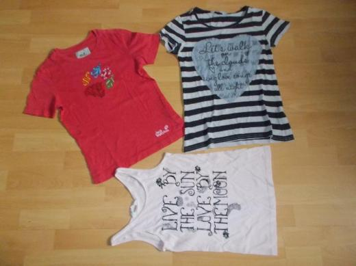 14 Teiliges T - Shirt Paket für Mädchen in 146 / 152 - Edewecht