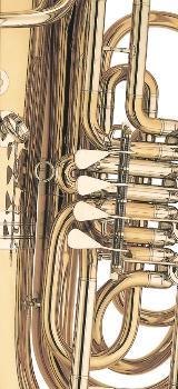 V. F. Cervený Kaiser - Tuba Mod. 693-4 R Neuware inkl. Rollenkoffer - Bremen Mitte