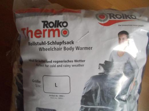 Schlupfsack ROLKO -THERMO Größe L ( bis 178 cm ) NEU ! in OVP ! - Edewecht