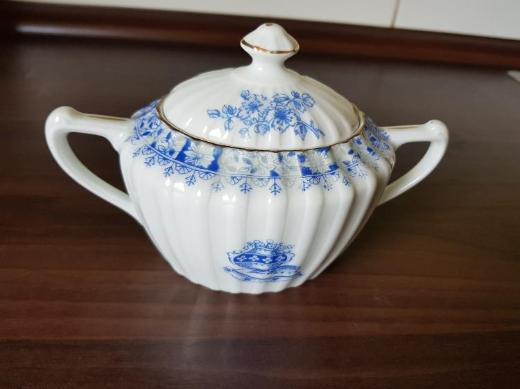Zuckerdose China Blau - Bremerhaven