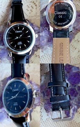 """Classic"" Edelstahl-Marken-Armbanduhr, unisex, mit Lederarmband, ungetragen, neu - Diepholz"
