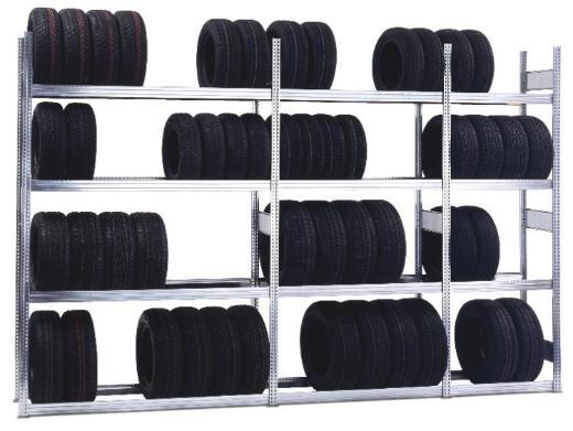 Reifenregal Fachlast 250 kg als Stecksystem NEU für Gewerbekunden - Wilhelmshaven