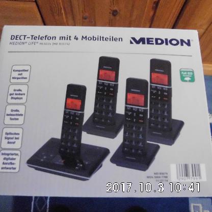 Medion DECT Telefonanlage - Bremen