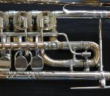 Meister J. Scherzer Profiklasse D - Trompete mit Tonausgleich, Goldmessing inkl. Koffer - Bremen Mitte