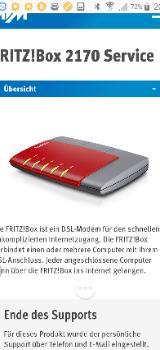 Fritz-Box DSL-Modem - Schwanewede