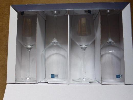 4 Zwieselkristallgals Weingläser - Stuhr