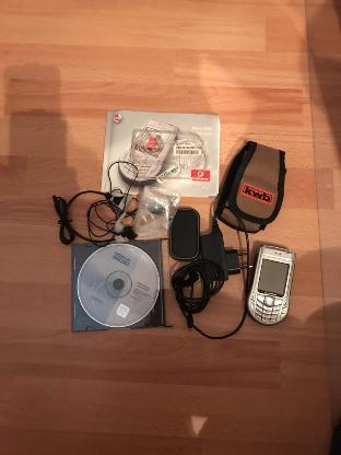 Nokia 6630 und GPS Modul Nokia LD3W - Bremen