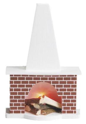 Kamin für das Puppenhaus / die Puppenstube, NEUWARE - Scheeßel