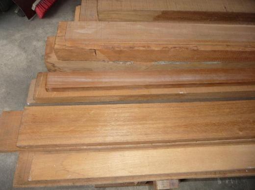 Teak-Holz(Burma-Teak) in versch.Abmessungen - Ritterhude