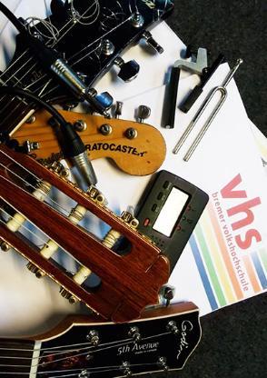 Gitarren-Kurse mit Peter Apel / VHS-FS-Semester '18