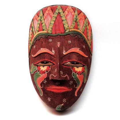 Masken aus Sumatra - 2 Stück - Bremen