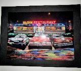 Großes LED-Wandbild, 80x60 cm, mit Netzanschluß, absolut neuwertiger Zustand! - Diepholz