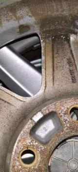 "4x Mercedes 16"" Alufelgen A2204012202 ET46 7,5Jx16 W220 - Bremen"