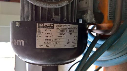 Kaeser Classic 320/50W Kompressor BJ 2011 Top Zustand + Schlauch - Bremen