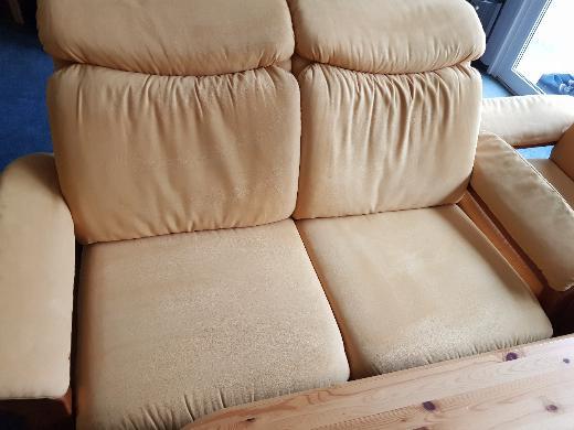 Sitzgarnitur Buche erlefarbig - Stuhr