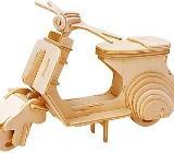 3D Puzzle Gepetto`s Vespa Motorroller, NEUWARE OVP - Scheeßel