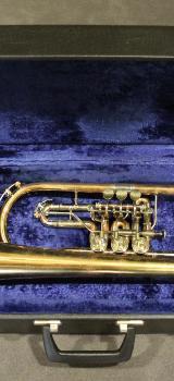 Meister J. Scherzer Konzert Flügelhorn aus Goldmessing inklusive Koffer - Bremen Mitte