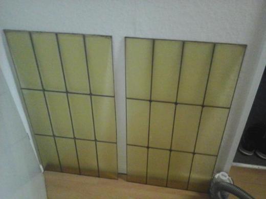 Tür-Fenster glass Retro - Bremerhaven