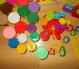 43 Teiliges Playdoh Knete /Schablonen /Formen /Knetwerk Paket - Edewecht