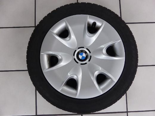 1 Satz M+S BMW 1er Runflat auf Stahlfelgen 185/60 R16 86H - Delmenhorst