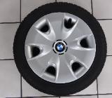 1 Satz M+S BMW 1er Runflat auf Stahlfelgen 185/60 R16 86H