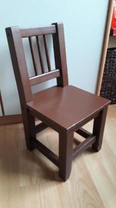 Stuhl Kinderstuhl Holzstuhl auch als Deko oder für Garten - Langwedel (Weser)