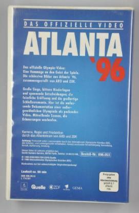 ATLANTA 1996 / Das offizielle Olympia-Video - Achim