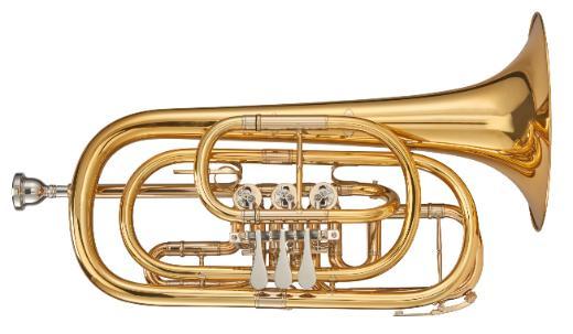 Kühnl & Hoyer Profiklasse Basstrompete in Bb, weite Bauart, Neuware - Bremen Mitte