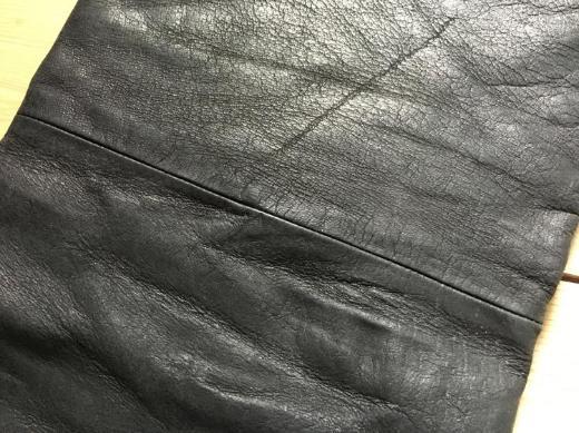 Echtleder Büffel Lederhose schwarz - Bremen
