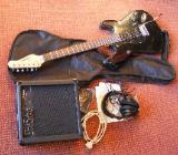 E-Gitarre, neuwertig mit kompletten Zubehör - Emstek