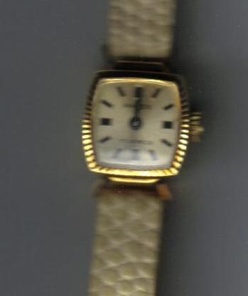 Vintage Anker Damenarmbanduhr 14 K - 585 Gold - Handaufzug - Bremerhaven