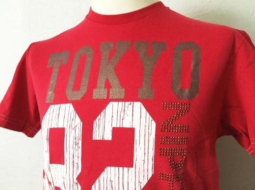 Shirt T-Shirt JPN 1982 Osaka Series NIPPON rot Größe M Kult! - Bremen