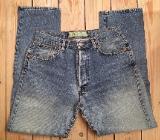 Jeans Jeanshose Hose The Origin James Dean Eden Größe 33/30 Blau aus 90ern - Bremen