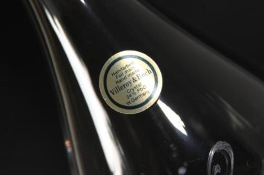 Karaffe Villeroy und Boch Kristallglas 0,5 Liter Initialien WT - Bremen