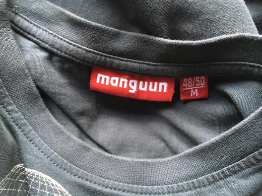 Shirt T-Shirt Manguun dunkles Grau Taubengrau Größe M TOP! - Bremen