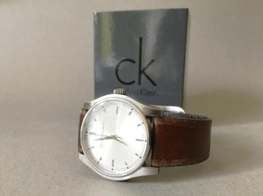 Calvin Klein Uhr Armbanduhr Jeans Watch analog Lederarmband - Bremen