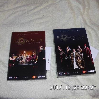 BORGIA 11 DVD's - Bremen