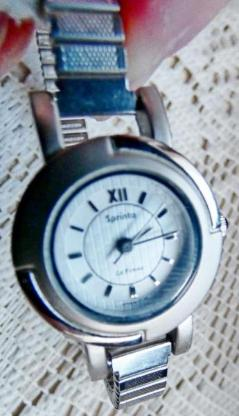 Edelstahl-Damenuhr, Flexo-Armband, Batterie neu, gut gepflegt! - Diepholz