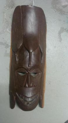 Holzmaske Maske aus der Domenikanischen Republik - Bremen