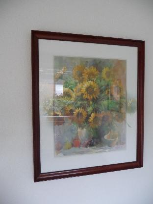 Bild, Sonnenblumenmotiv - Bremen