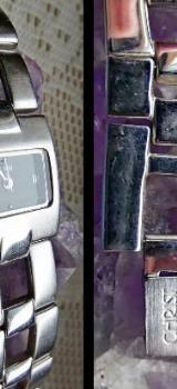 "Damen-Edelstahl-Armbanduhr ""CHRIST"", Gliederarmband - gut gepflegt! - Diepholz"